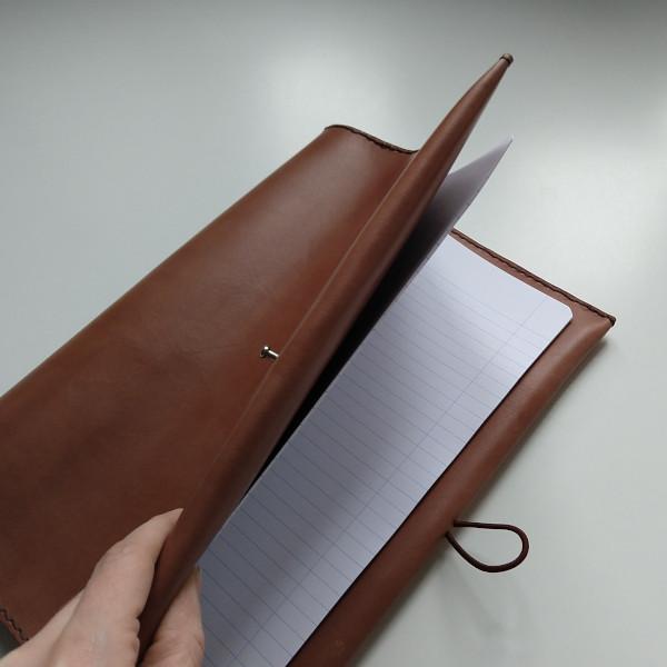 Kožený zápisník MontMat Vasco