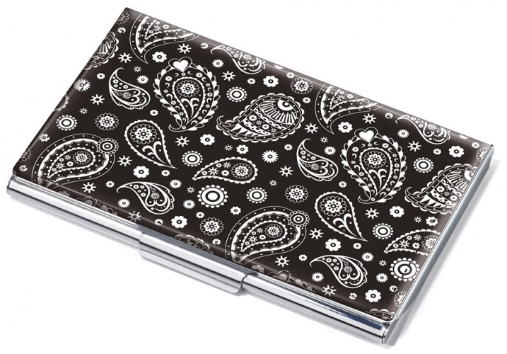 Business card case PAISLEY CLASSIC
