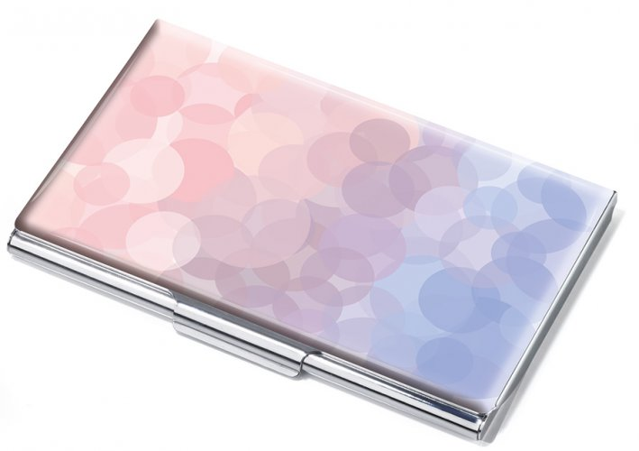 Business card case SERENITY ROSE