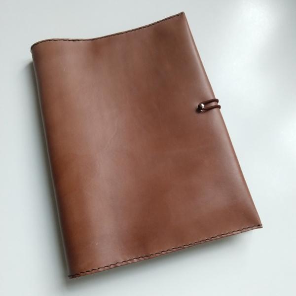 Kožený obal na zápisník VASCO A5 (výběr 22 barev) 1-přírodní