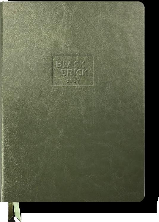 Zelený diář Black Brick (Martezi.cz)